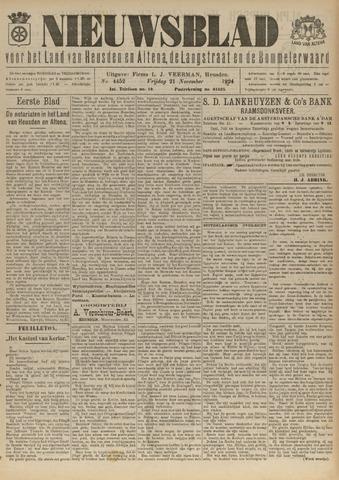 Nieuwsblad het land van Heusden en Altena de Langstraat en de Bommelerwaard 1924-11-21