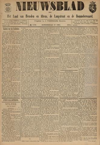 Nieuwsblad het land van Heusden en Altena de Langstraat en de Bommelerwaard 1894-12-27