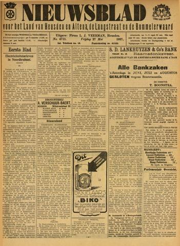 Nieuwsblad het land van Heusden en Altena de Langstraat en de Bommelerwaard 1927-05-27