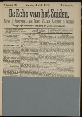 Echo van het Zuiden 1886-07-04