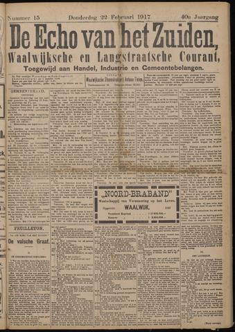 Echo van het Zuiden 1917-02-22