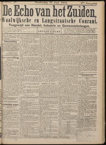 Echo van het Zuiden 1904-06-16