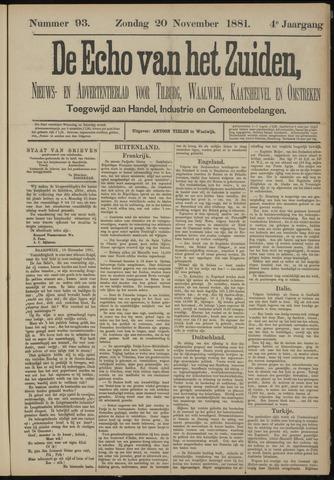 Echo van het Zuiden 1881-11-20