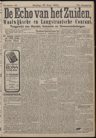 Echo van het Zuiden 1912-06-23