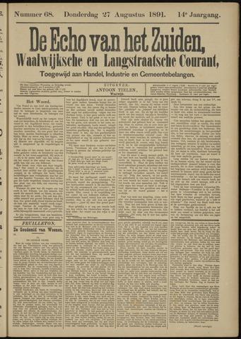 Echo van het Zuiden 1891-08-27