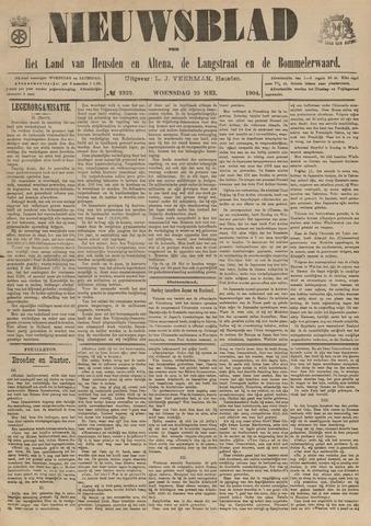 Nieuwsblad het land van Heusden en Altena de Langstraat en de Bommelerwaard 1904-05-25