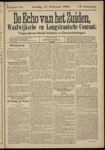 Echo van het Zuiden 1891-02-15