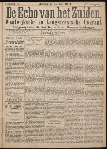 Echo van het Zuiden 1904-01-17