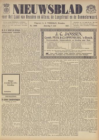 Nieuwsblad het land van Heusden en Altena de Langstraat en de Bommelerwaard 1917-07-07