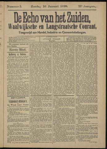 Echo van het Zuiden 1898-01-16