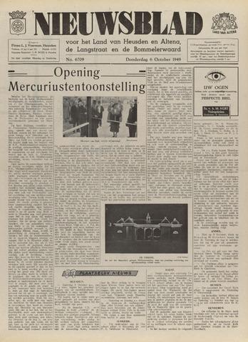 Nieuwsblad het land van Heusden en Altena de Langstraat en de Bommelerwaard 1949-10-06
