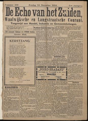 Echo van het Zuiden 1916-12-24