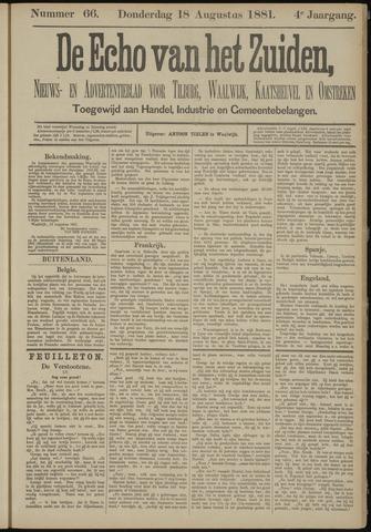Echo van het Zuiden 1881-08-18