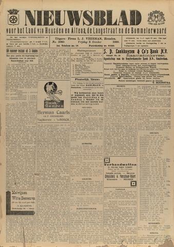 Nieuwsblad het land van Heusden en Altena de Langstraat en de Bommelerwaard 1930-10-03