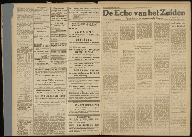 Echo van het Zuiden 1947-06-05