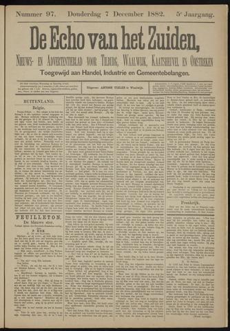 Echo van het Zuiden 1882-12-07
