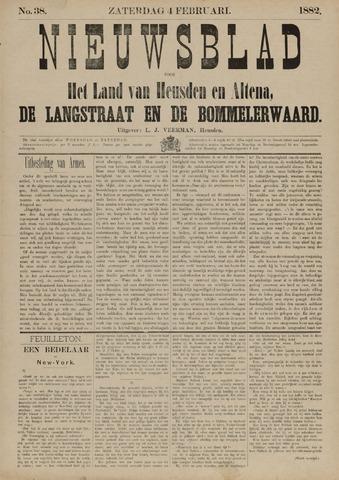 Nieuwsblad het land van Heusden en Altena de Langstraat en de Bommelerwaard 1882-02-04