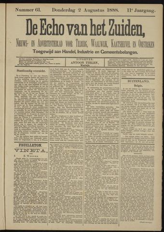 Echo van het Zuiden 1888-08-02