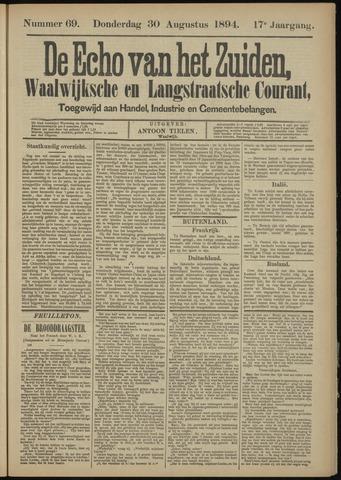 Echo van het Zuiden 1894-08-30