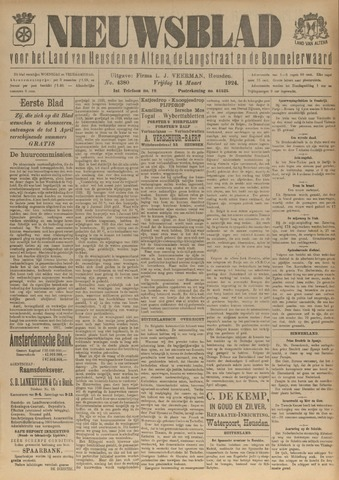 Nieuwsblad het land van Heusden en Altena de Langstraat en de Bommelerwaard 1924-03-14