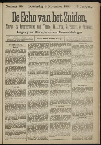 Echo van het Zuiden 1882-11-09
