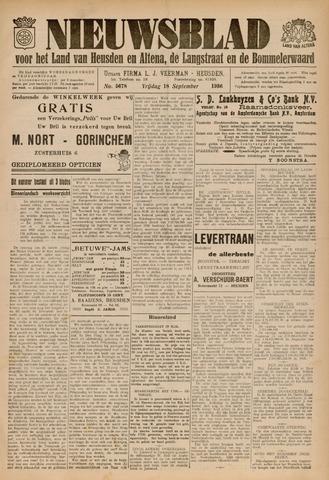 Nieuwsblad het land van Heusden en Altena de Langstraat en de Bommelerwaard 1936-09-18