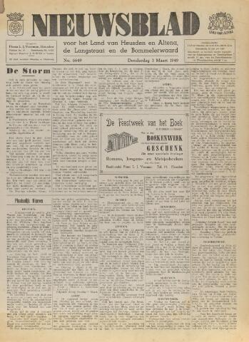 Nieuwsblad het land van Heusden en Altena de Langstraat en de Bommelerwaard 1949-03-03