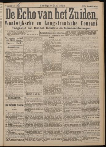 Echo van het Zuiden 1915-05-02