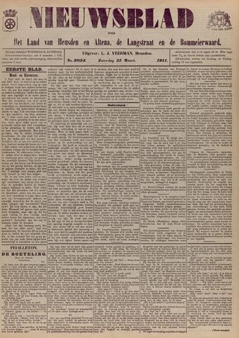 Nieuwsblad het land van Heusden en Altena de Langstraat en de Bommelerwaard 1911-03-25