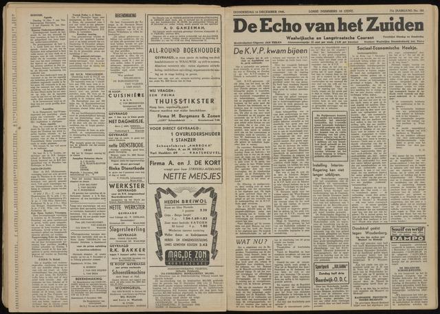 Echo van het Zuiden 1948-12-16