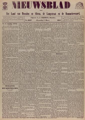Nieuwsblad het land van Heusden en Altena de Langstraat en de Bommelerwaard 1911-03-01