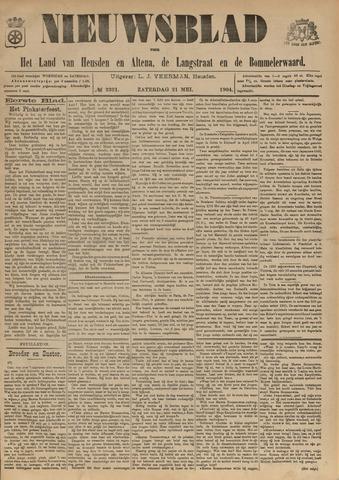 Nieuwsblad het land van Heusden en Altena de Langstraat en de Bommelerwaard 1904-05-21