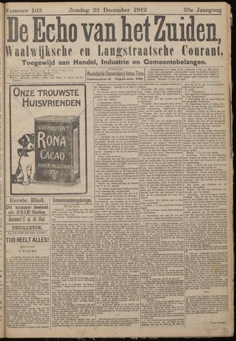 Echo van het Zuiden 1912-12-22