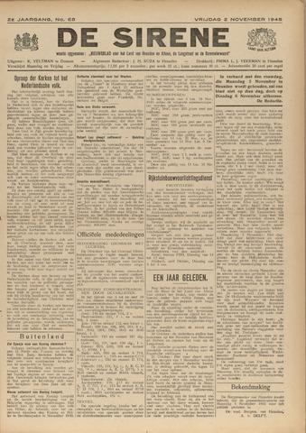 De Sirene 1945-11-02