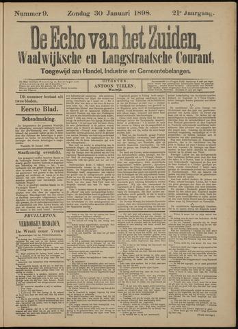 Echo van het Zuiden 1898-01-30