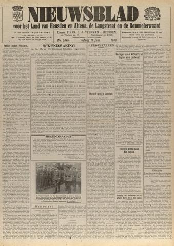 Nieuwsblad het land van Heusden en Altena de Langstraat en de Bommelerwaard 1943-06-11