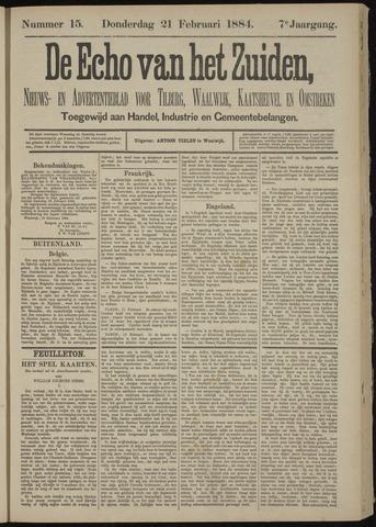 Echo van het Zuiden 1884-02-21