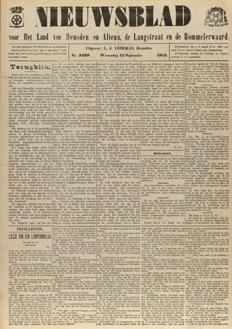 Nieuwsblad het land van Heusden en Altena de Langstraat en de Bommelerwaard 1915-09-15