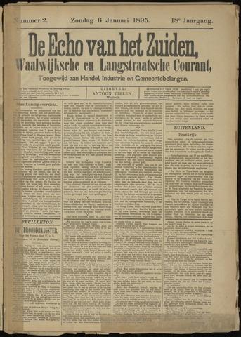 Echo van het Zuiden 1895-01-06