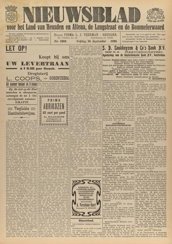 Nieuwsblad het land van Heusden en Altena de Langstraat en de Bommelerwaard 1932-09-16