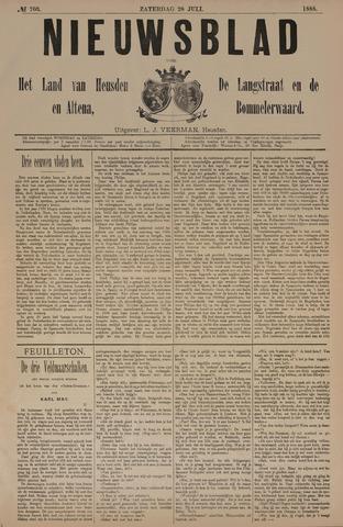 Nieuwsblad het land van Heusden en Altena de Langstraat en de Bommelerwaard 1888-07-28