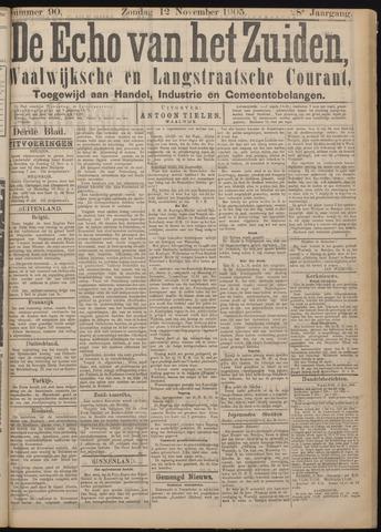 Echo van het Zuiden 1905-11-12