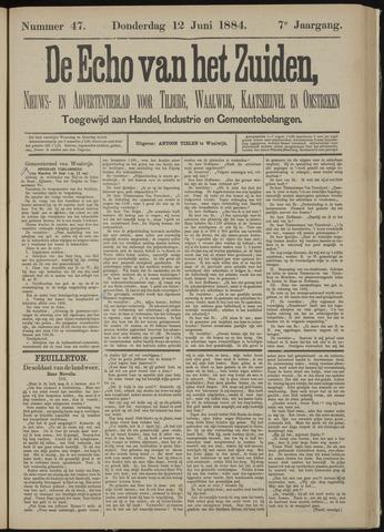 Echo van het Zuiden 1884-06-12