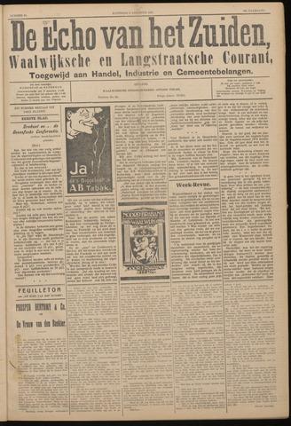 Echo van het Zuiden 1927-08-06