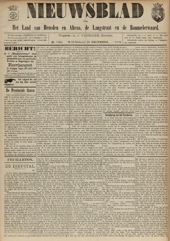 Nieuwsblad het land van Heusden en Altena de Langstraat en de Bommelerwaard 1892-12-28