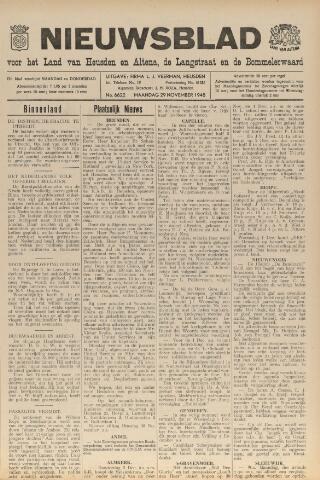 Nieuwsblad het land van Heusden en Altena de Langstraat en de Bommelerwaard 1948-11-29