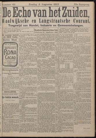 Echo van het Zuiden 1912-08-04