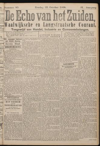 Echo van het Zuiden 1908-10-25