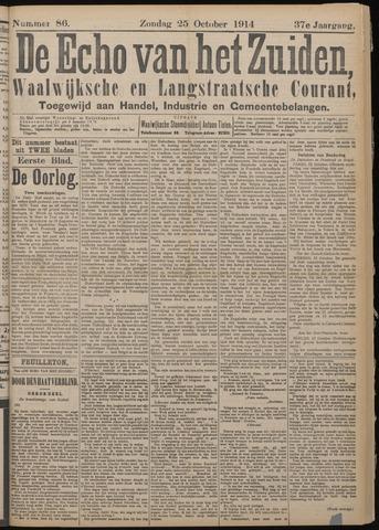 Echo van het Zuiden 1914-10-25