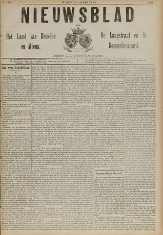 Nieuwsblad het land van Heusden en Altena de Langstraat en de Bommelerwaard 1891-01-28